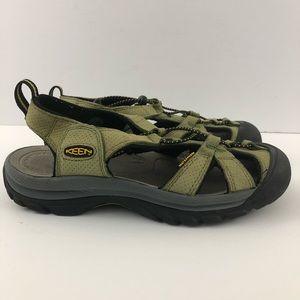 KEEN Women Green Venice H2 Sport Sandals Size 8.5